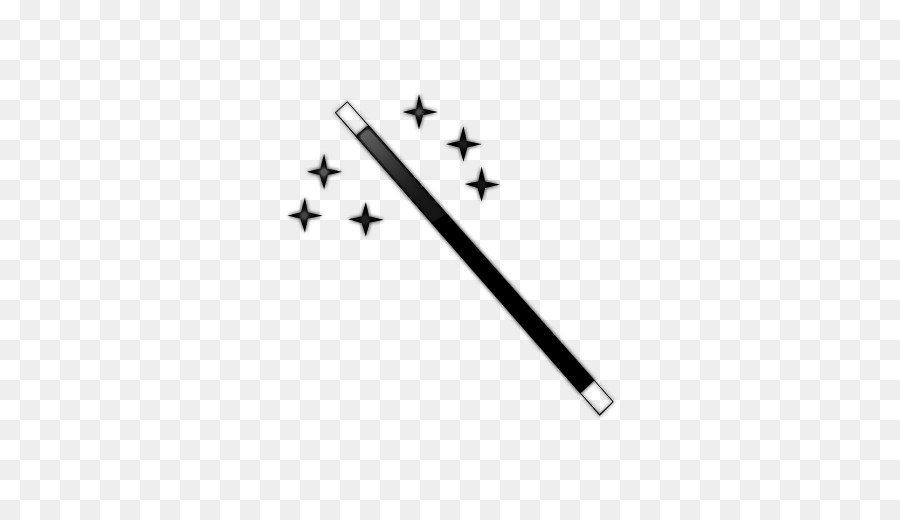 Collection of Wand PNG Black And White. | PlusPNG