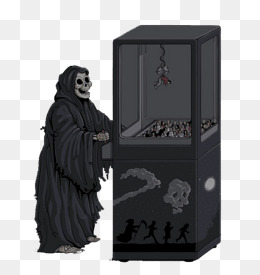 Black death wardrobe illustration, Black, Grim Reaper, Wardrobe PNG and PSD - Wardrobe HD PNG