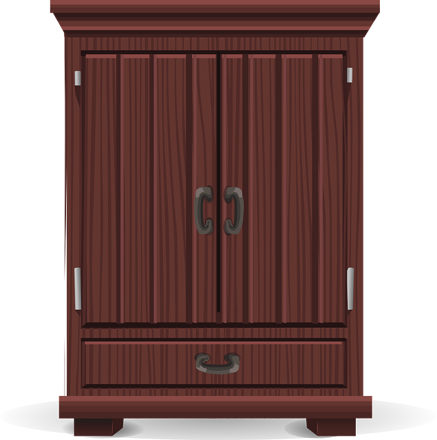 Free vector graphic: Armoire, Storage, Wardrobe - Free Image on Pixabay -  576194 - Wardrobe HD PNG