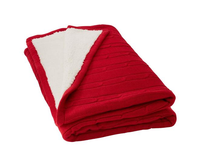 Sherpa Lined Blanket - Warm Blanket PNG