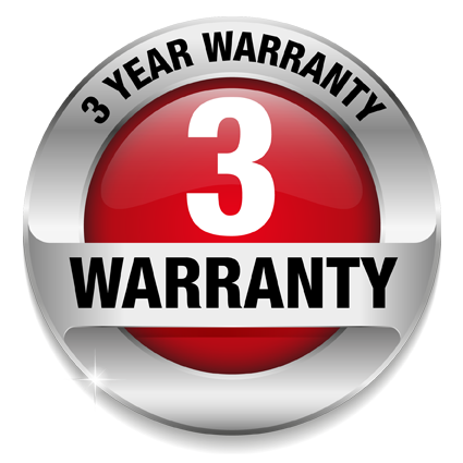 3-year-warranty_logo - Warranty HD PNG