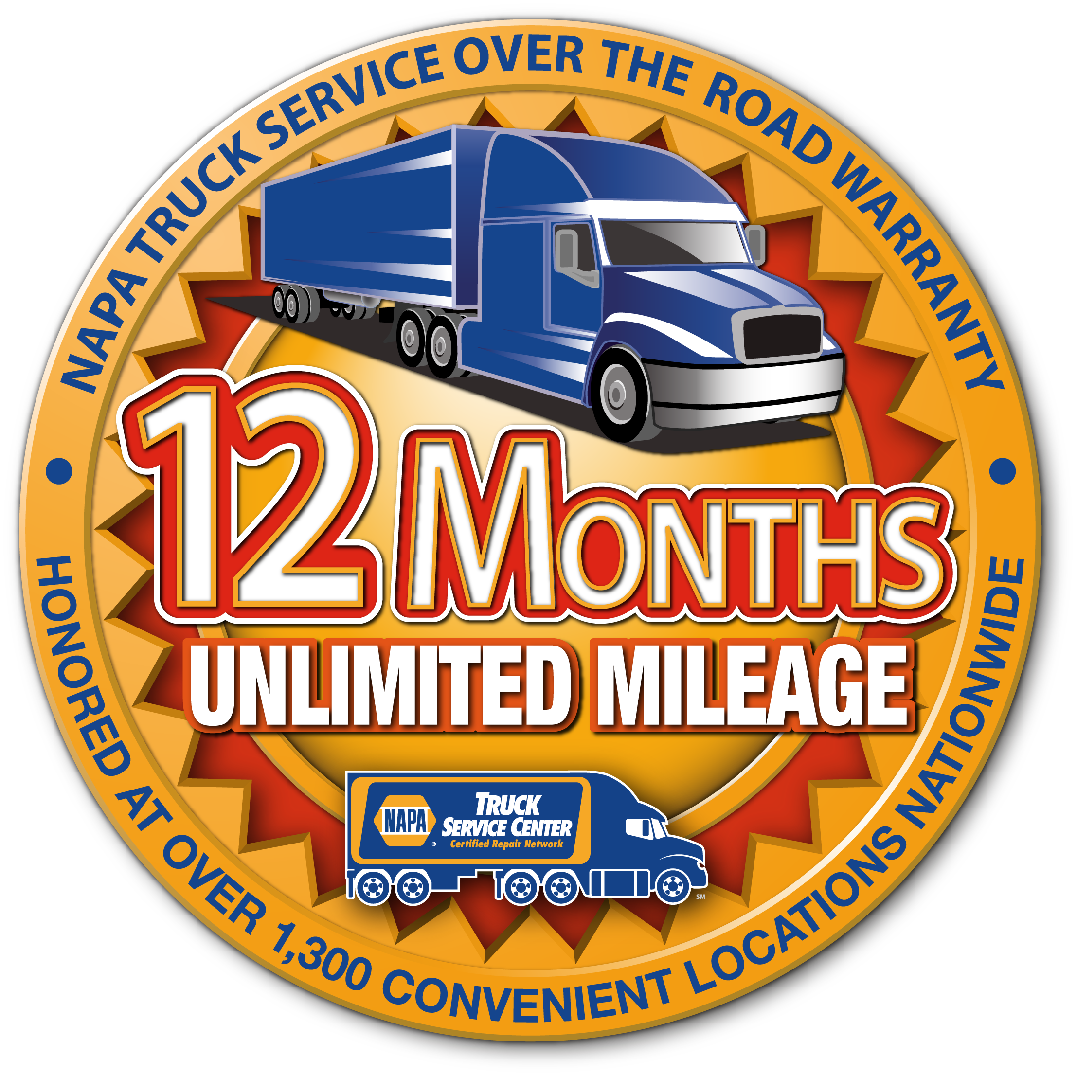 Covers Parts and Labor on Qualifying Repairs and Services for 12 months  with unlimited mileage. - Warranty HD PNG
