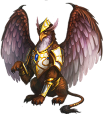 Warrior Griffin.png - Griffin PNG