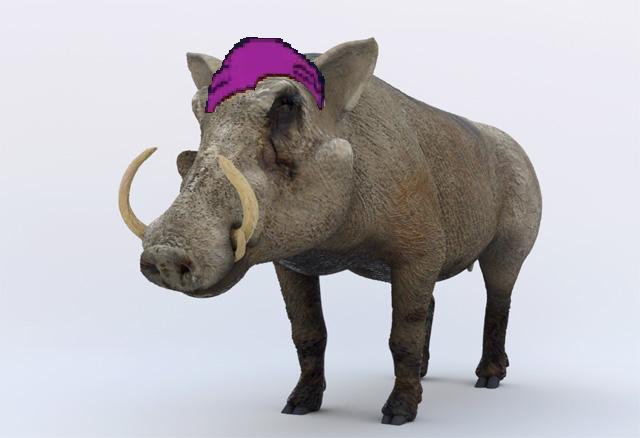 File:Gnorris as Warthog.png - Warthog PNG HD