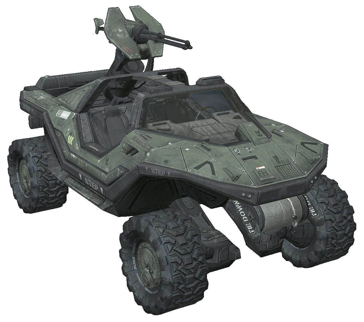 Halo Reach Warthog.png - Warthog PNG HD