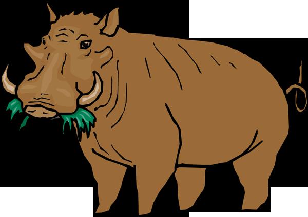 Warthog Clip Art 1 - Warthog PNG HD