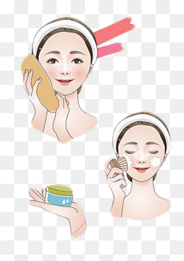 face wash, Decorate, Cosmetology, Cartoon Hand Drawing PNG Image and Clipart - Wash Hands And Face PNG