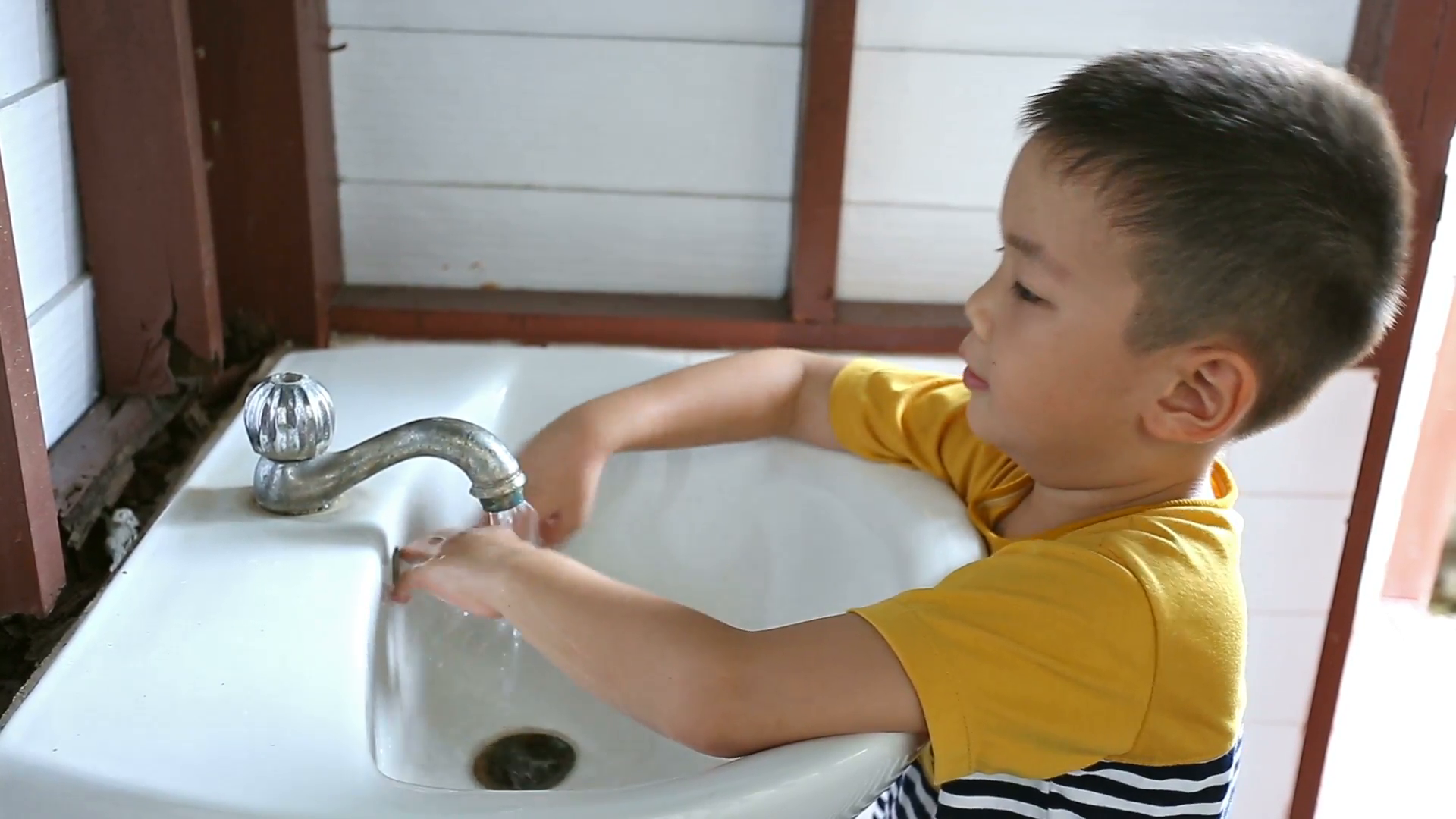 Little boy washing hand in seven step with smiling face Stock Video Footage  - VideoBlocks - Wash Hands And Face PNG
