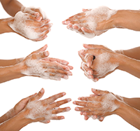 One of the most effective ways to prevent the spread of illnesses is  through proper hand - Wash Hands PNG HD