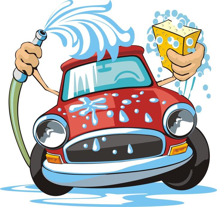 Car Wash Clipart Png. - Washing Car PNG HD