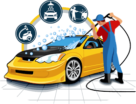 Car Wash Menu - Washing Car PNG HD