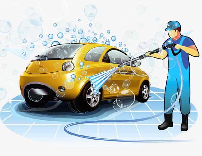 Washing Car PNG HD - 131780