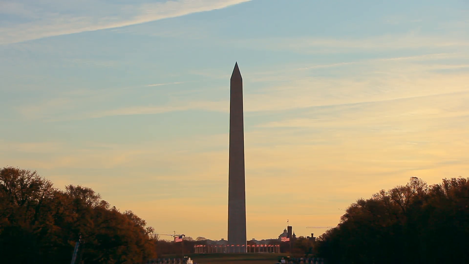 A static shot of the Washington Monument at sunset in Washington DC. Stock  Video Footage - VideoBlocks - Washington Monument PNG HD
