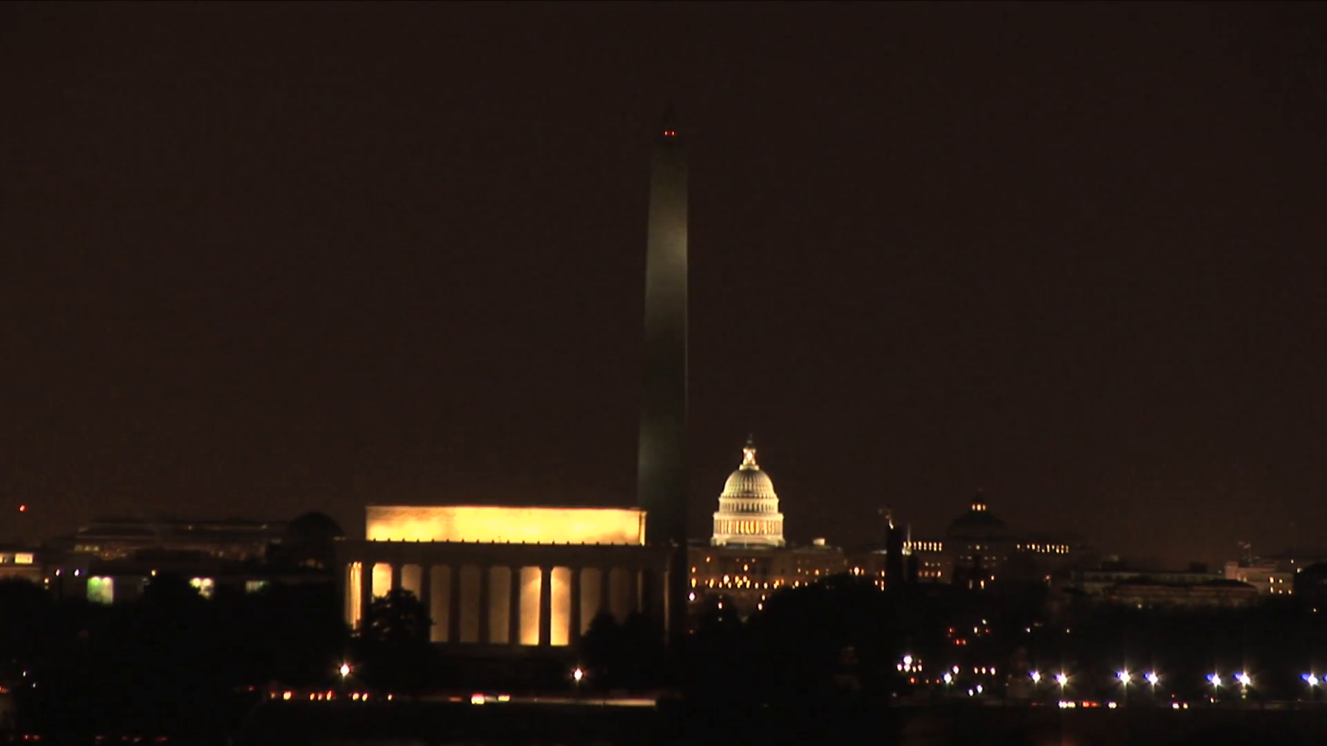 HD ES: Washington DC Skyline Highlights The Washington Monument, The US  Capitol Building, and The Lincoln Memorial. Filmed using a Sony EX-3 Circa  2016 PlusPng.com  - Washington Monument PNG HD