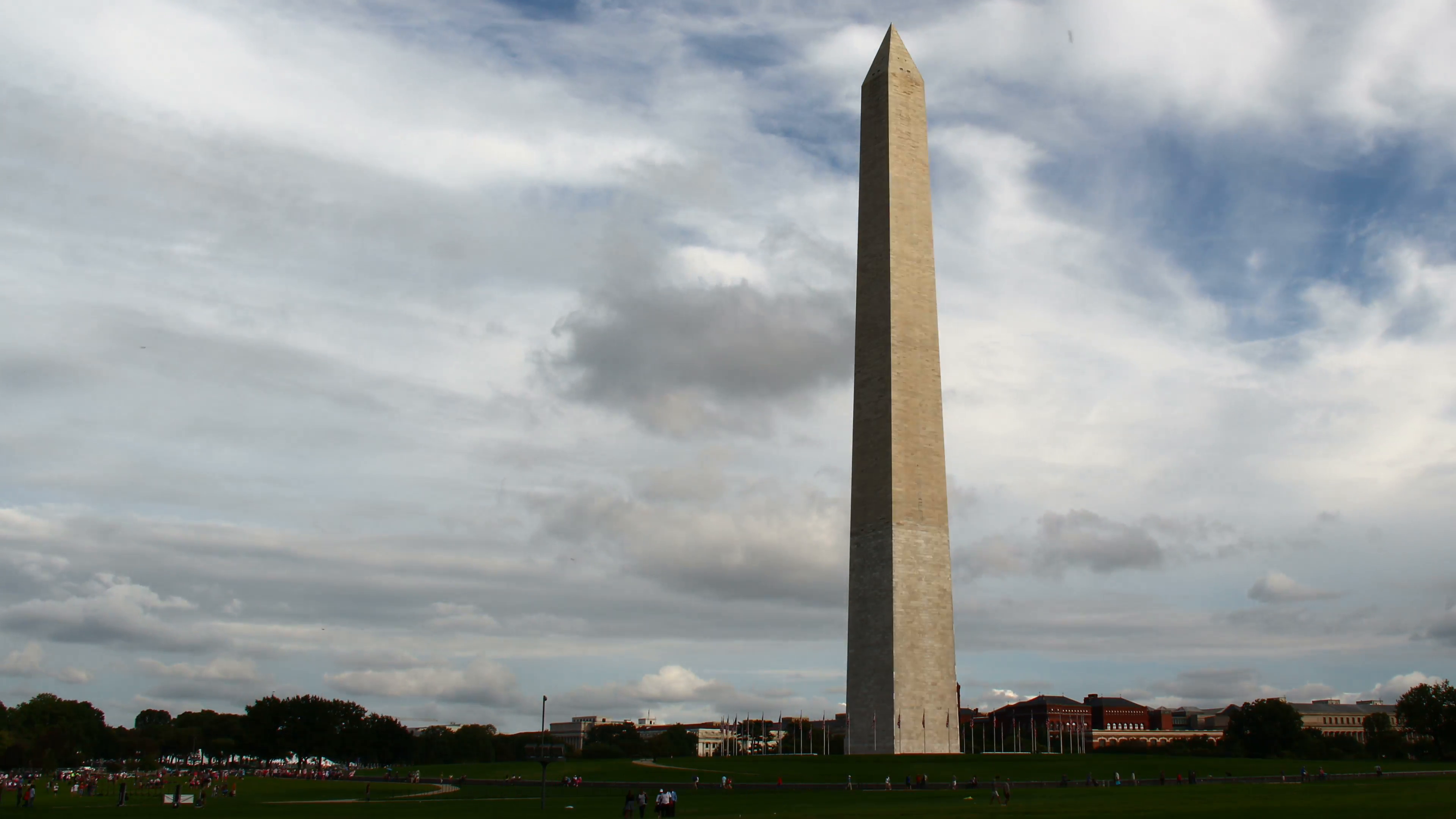 Washington Monument Time-Lapse. Timelapse of the Washington Monument in Washington  D.C. Rendered in UltraHD 4K from high resolution stills. - Washington Monument PNG HD