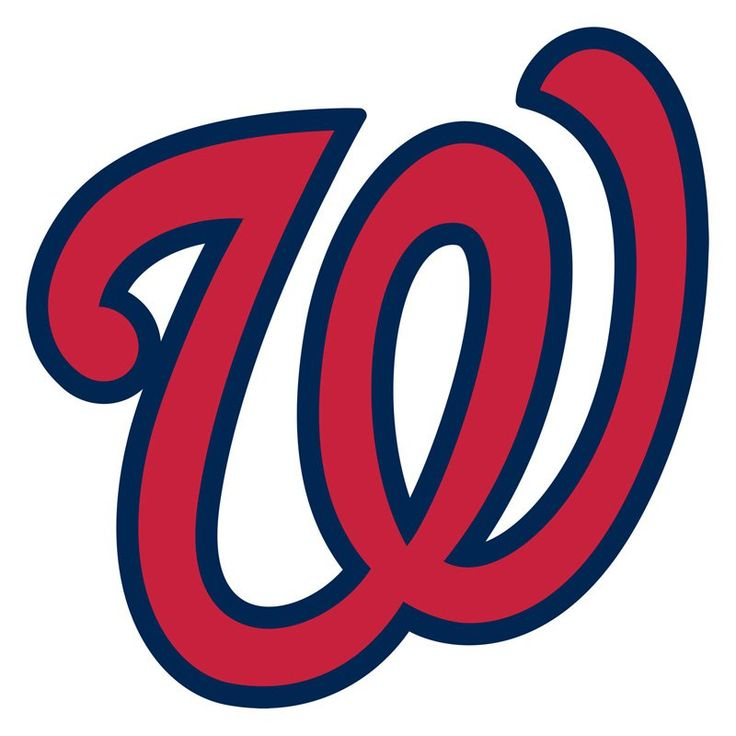 MLB Team Logo Wall Decal - 63-63 - Washington Nationals Logo Vector PNG