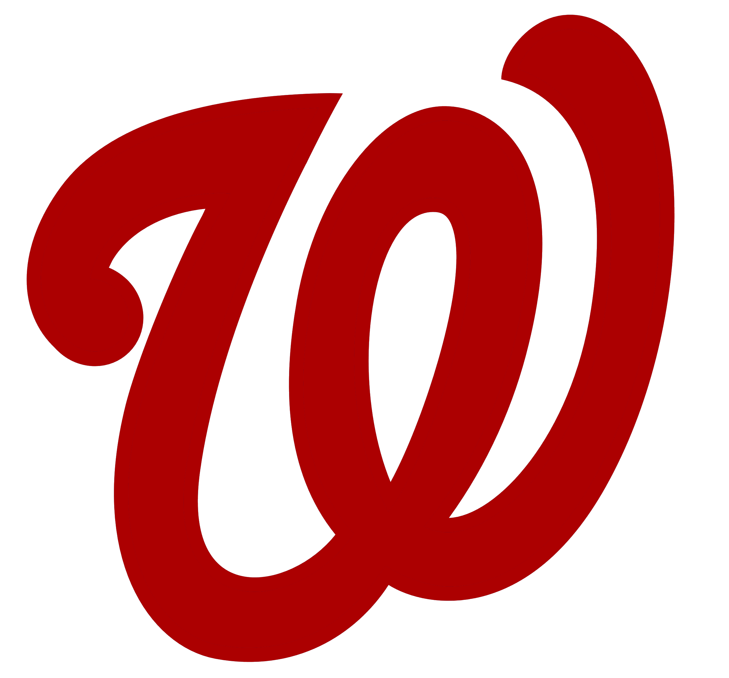 Washington Nationals - Washington Nationals Logo Vector PNG