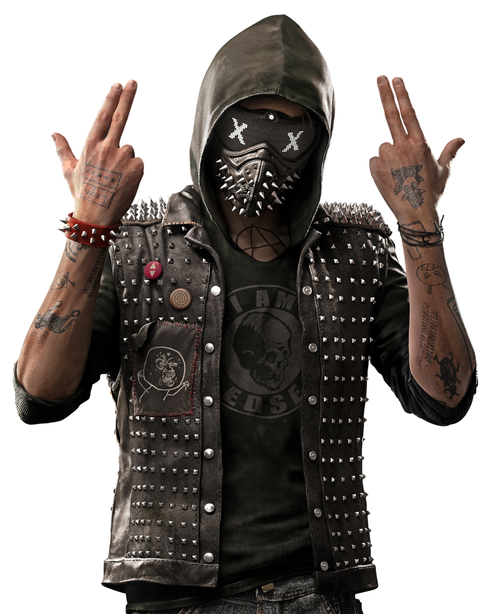 Watch Dogs HD PNG-PlusPNG.com
