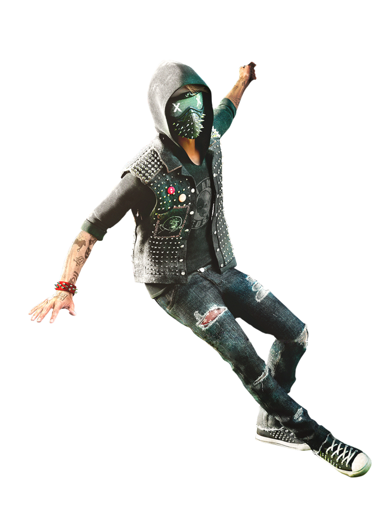 Watch dogs 2 wrench render 7 by digital zky-dark3zb.png - Watch Dogs HD PNG