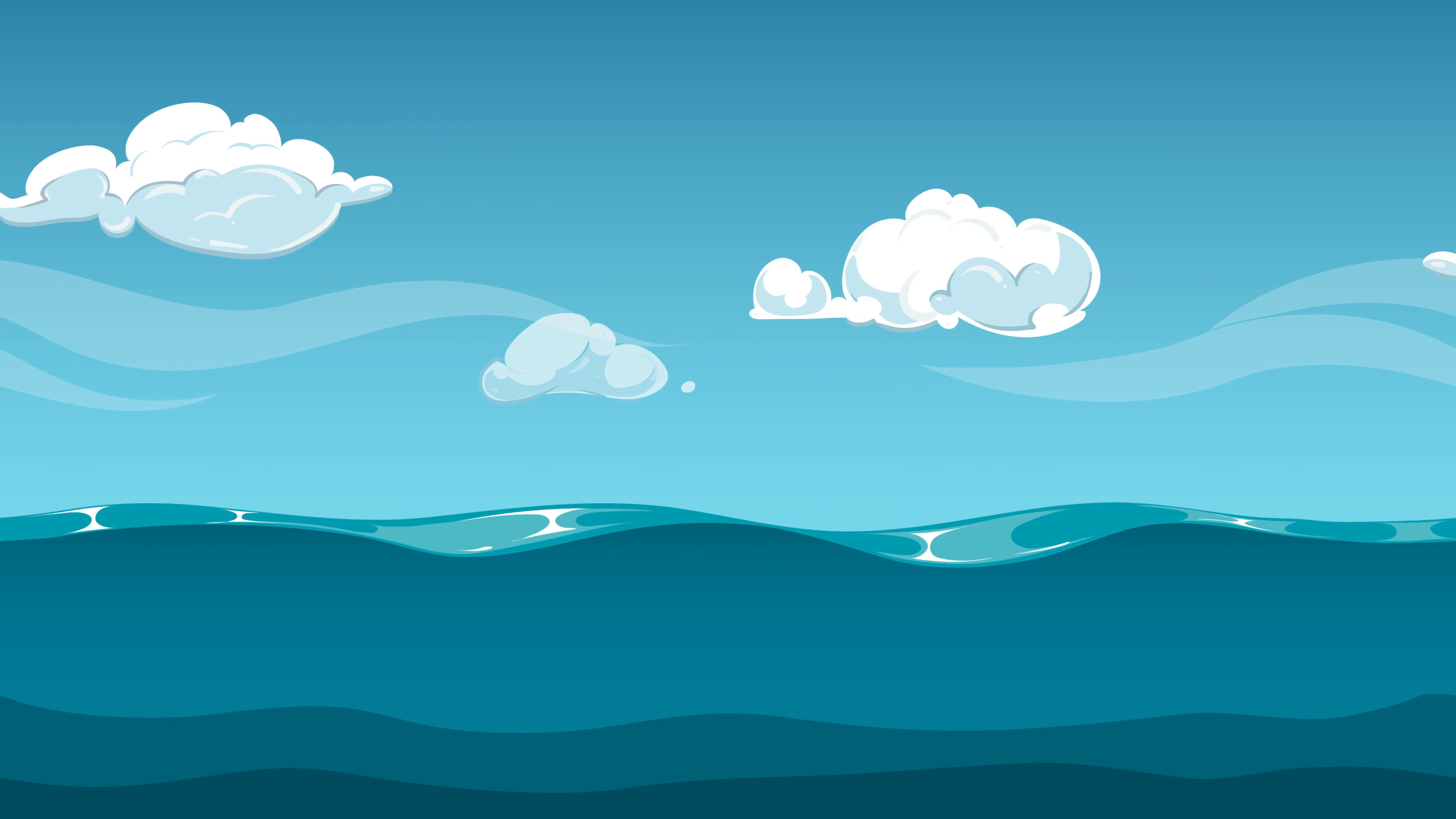 Water And Sky PNG - 169642