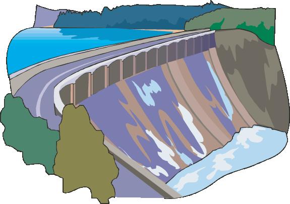 Dam - Water Dam PNG