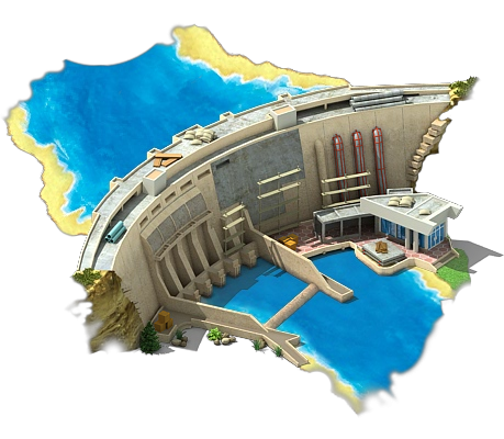 Hydro_Power_Plant_L2 - Water Dam PNG