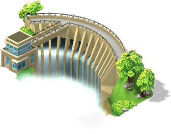 Pow dam SW.png - Water Dam PNG