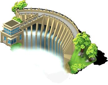 Pow dam SW.png - Water Dam PNG