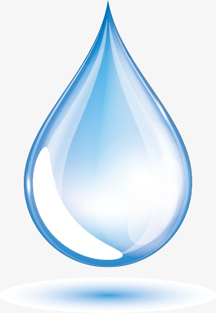 Blue water drops Vector, Water, Drop, Blue Water Drop Free PNG and Vector - Water Droplet PNG HD