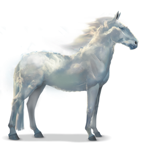 Cloud, Water horse. Cloud is the son of Rain and Geyser - Water Horse PNG