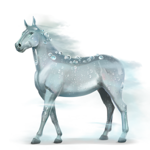 Dew Divine Horse - Water Horse PNG