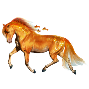 File:Water horse (2) Goldfish .png - Water Horse PNG