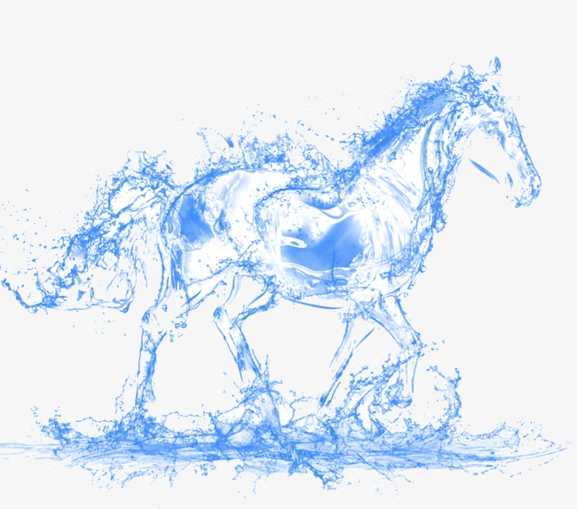 water horse, Horse, Animal, Creative Design PNG Image and Clipart - Water Horse PNG
