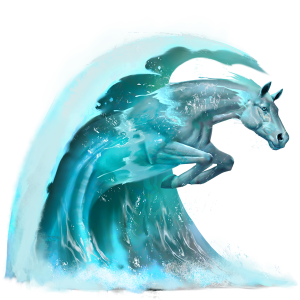 Wave.png - Water Horse PNG