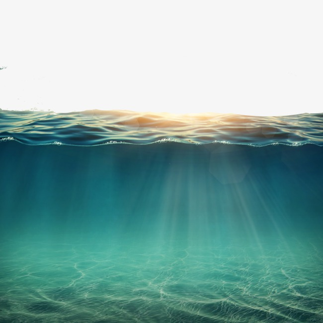 Water under the sun, Surface Beauty HD Picture Sunlit, Sunrise Over Sea,  Natural · PNG - Water PNG