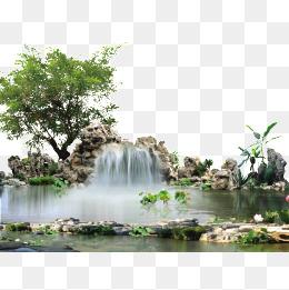Waterfall PNG HD - 151234