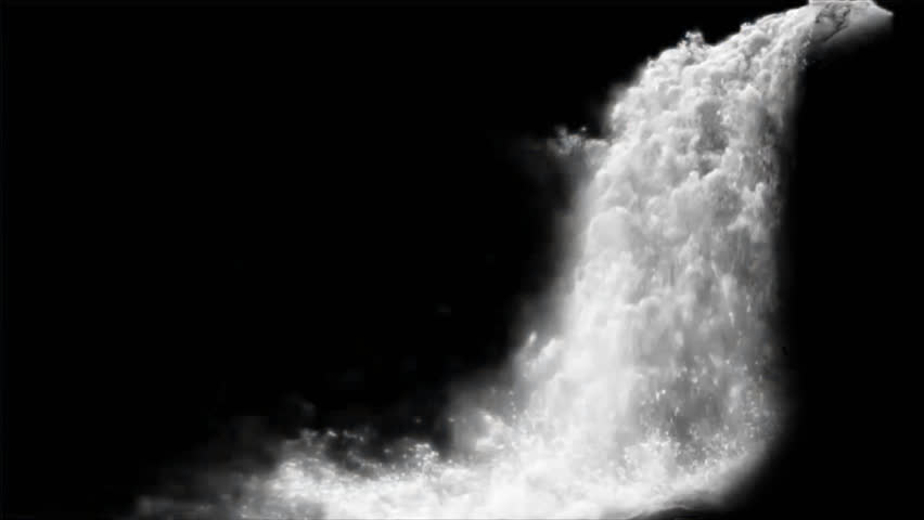 Waterfall Isolated On A Transparent Background Stock Footage Video 21826462  | Shutterstock - Waterfall PNG