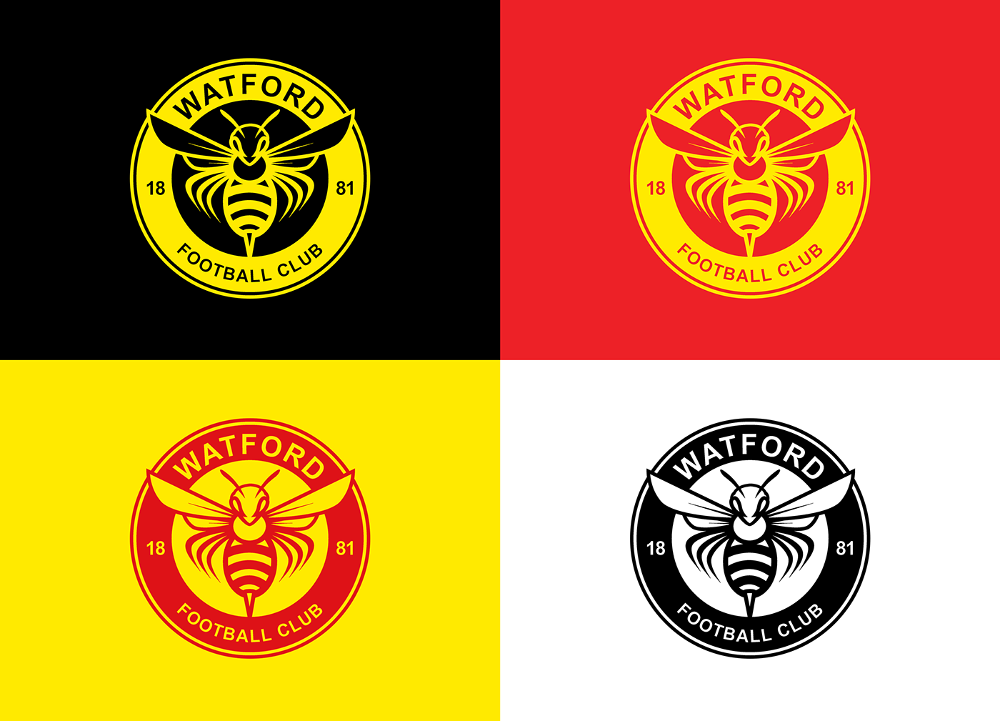 Follow me on - Watford Fc Logo PNG