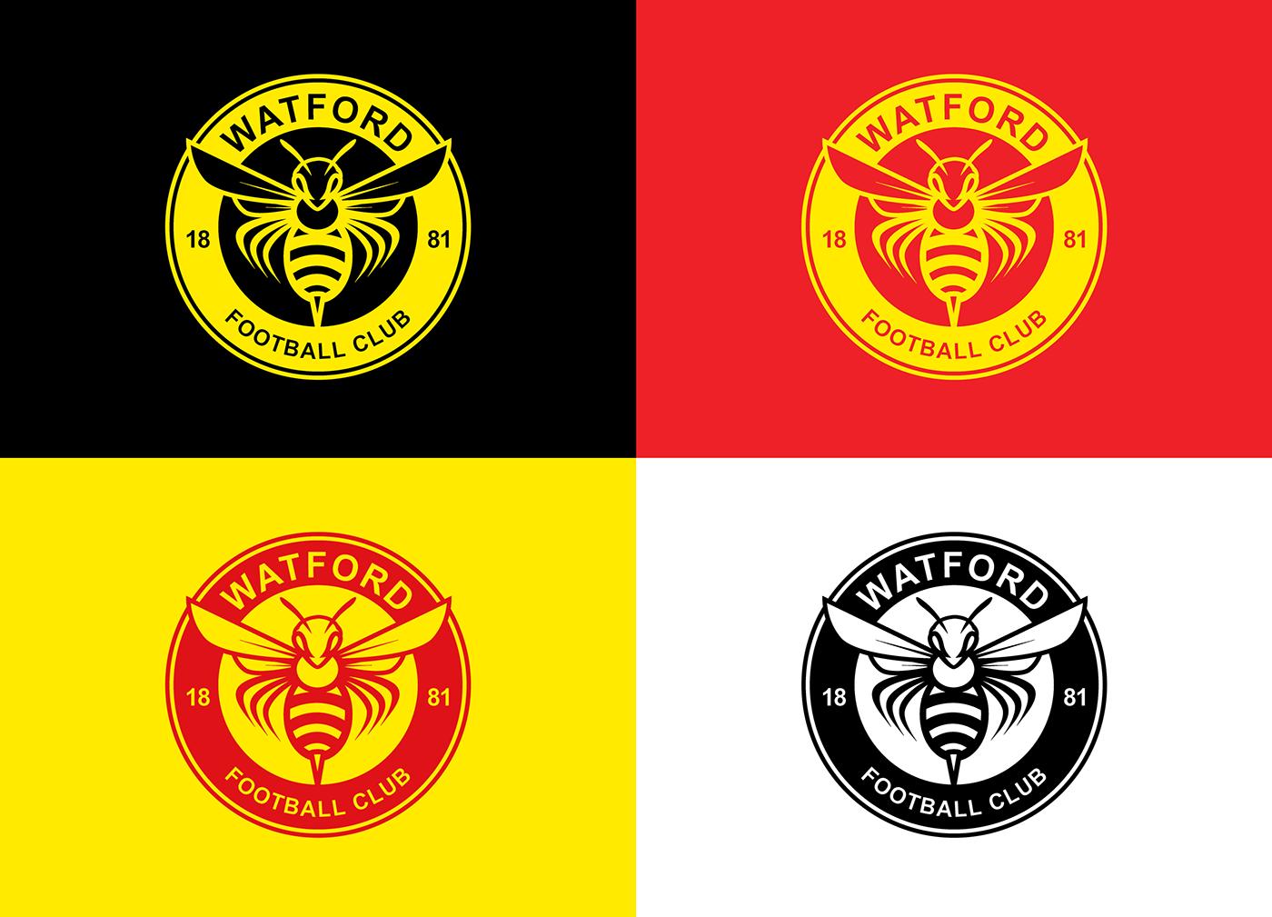 Watford Fc Logo PNG - 39263