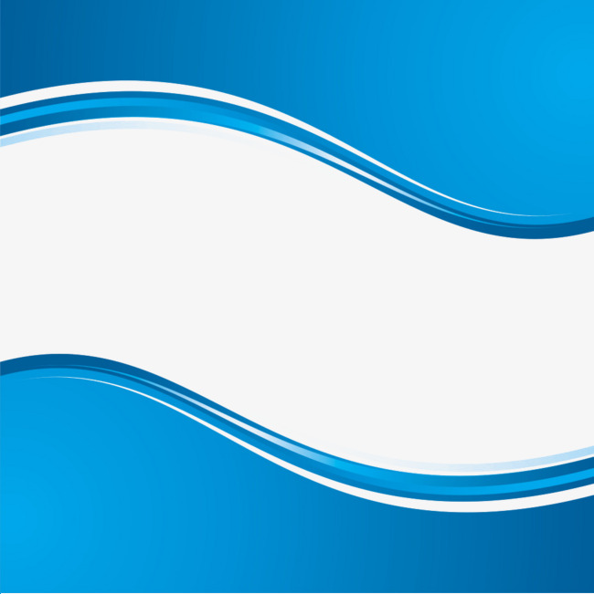 Vector curve border, Blue, Curve, Frame PNG and Vector - Waves PNG HD Border