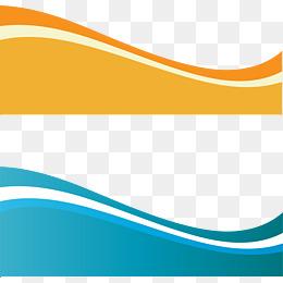 Waves PNG HD Border - 128825