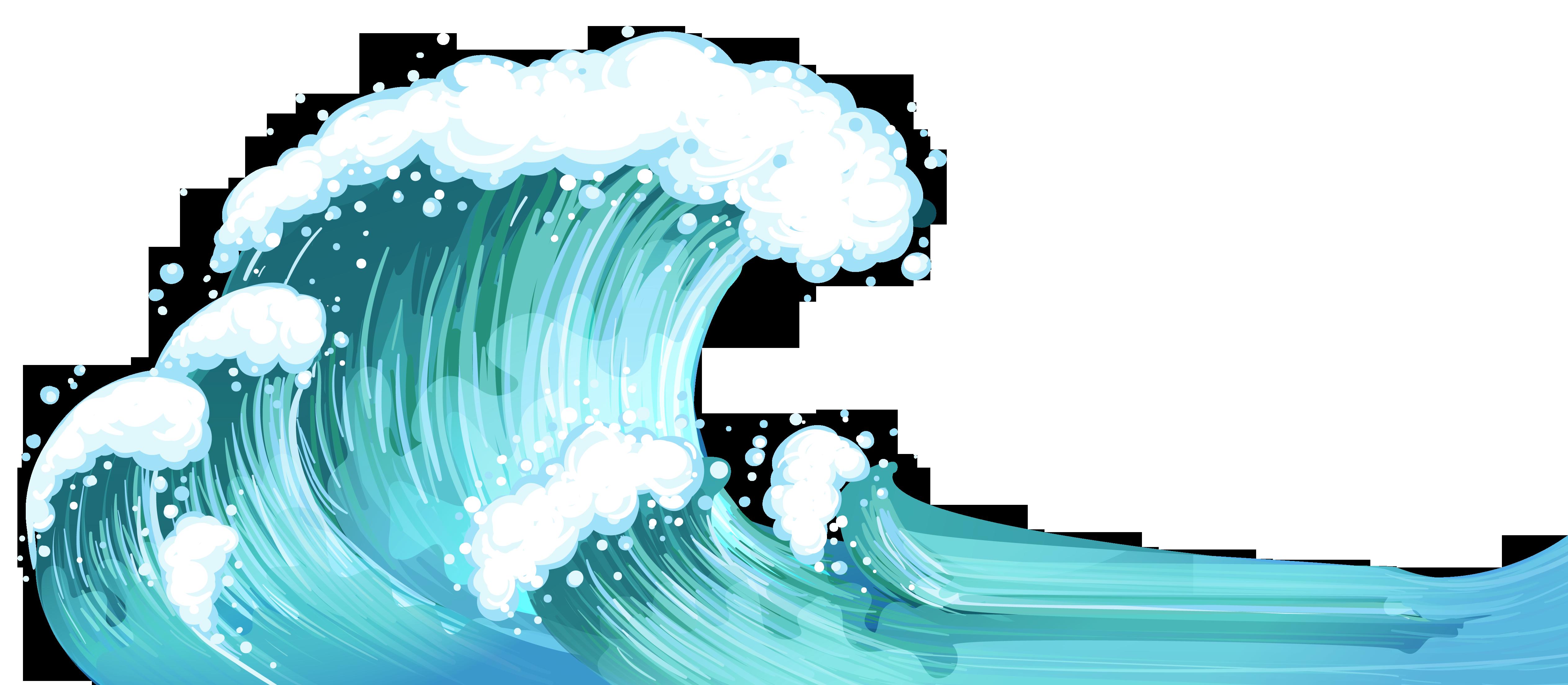 Waves PNG HD Border - 128834