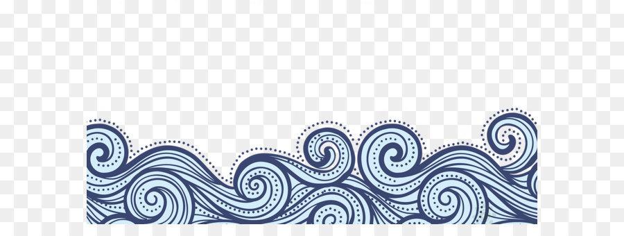 Wavy Line Border PNG - 166022