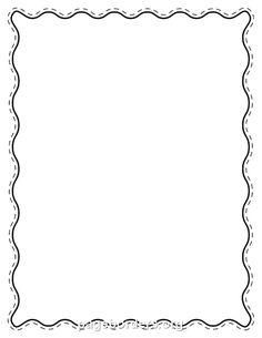 Wavy Line Border PNG - 166015