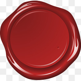 Red wax seal, Wax Printing, W