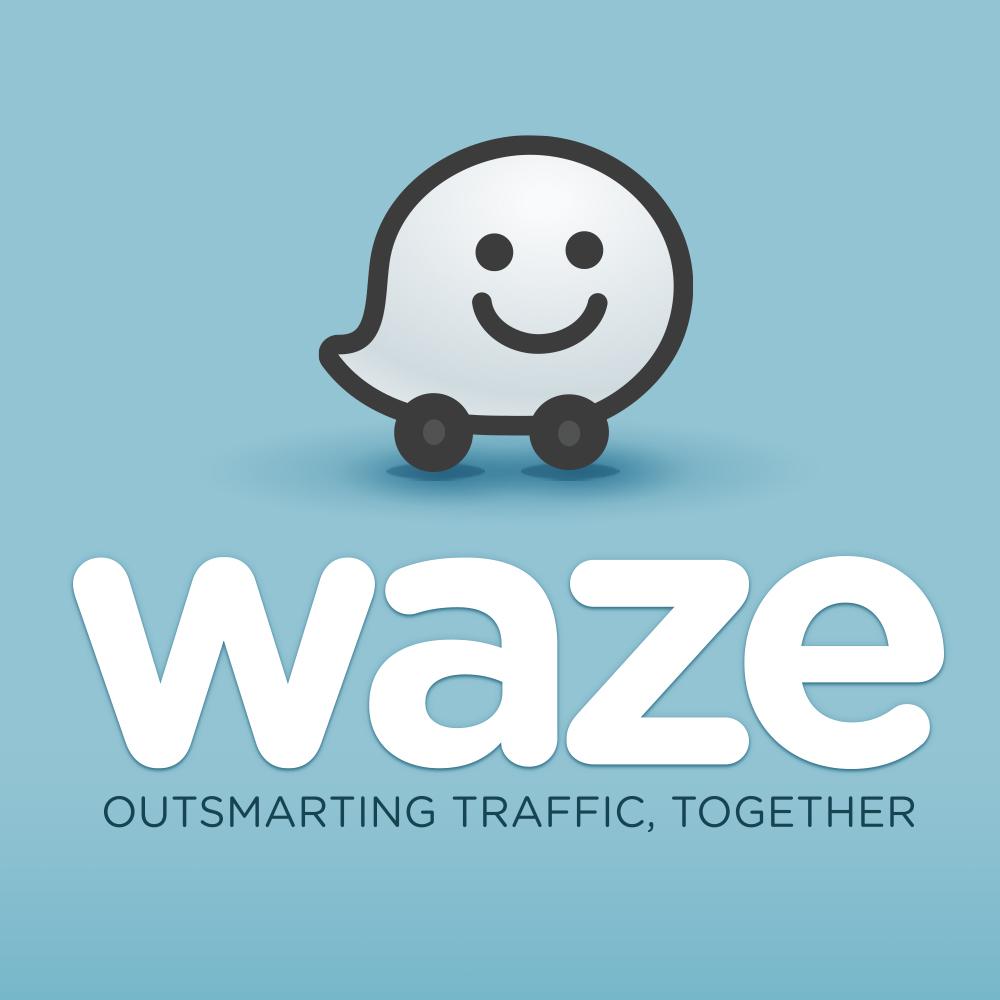 Waze Logo Vector PNG - 100022