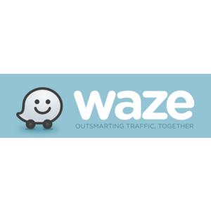 Waze Logo Vector PNG - 100021