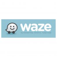 Waze Logo Vector PNG - 100019