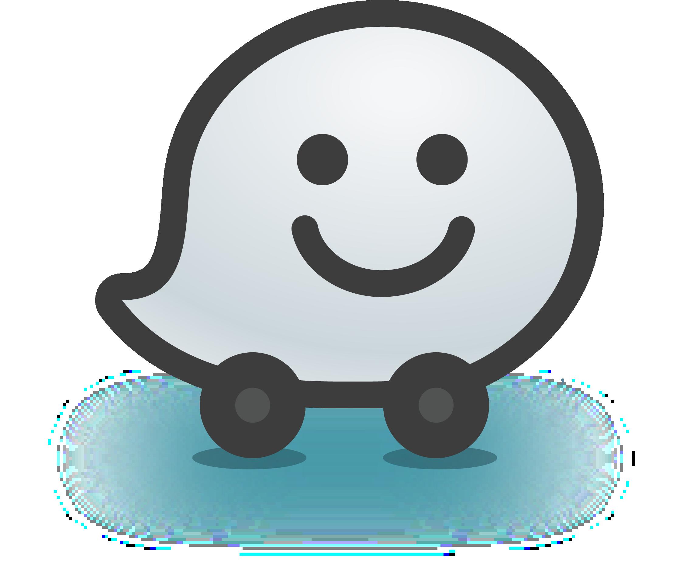 Waze Mobile - Waze Logo Vector PNG