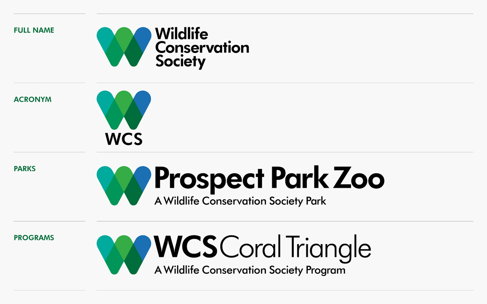 New Logo And Identity For Wildlife Conservation Society By Pluspng.com  - Wcs Logo PNG